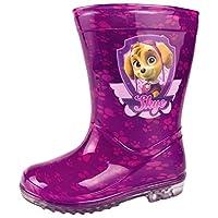 Paw patrol trendy kids wellies - boy/girl (UK 6, Pink)