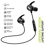 CrossBeats PULSE Wireless Bluetooth Headset In-Ear Sports earbuds | CVC 6.0 Noise Cancelling