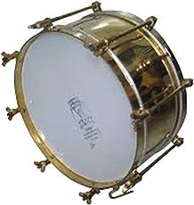 Swastik Super Band Overtones High Sound Musical Side Drum, 14-inch (Silver)