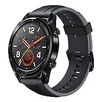 ba5500479  HUAWEI WATCH GT Sport أسود من الفولاذ المقاوم للصدأ جرافيت أسود حزام رياضي  V401