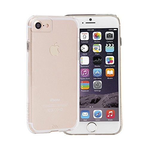 Case-Mate CM034748X - Funda para Apple iPhone 7 / 6 / 6S, transparente