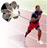 Power Chute Speed Training - Running Parachute Resistance Trainer - Branded Aminori with Warranty