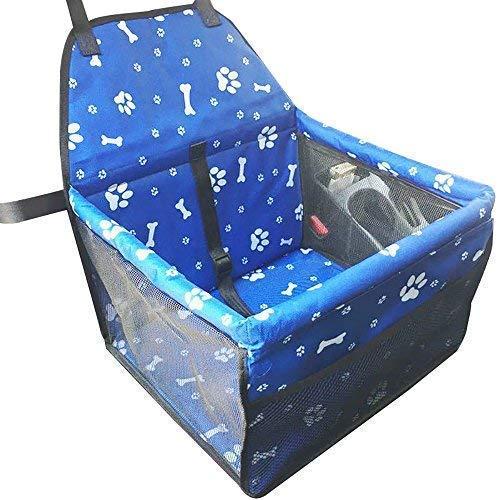 Roblue asiento de auxiliar de coche para perro funda impermeable para asiento de animales de tejido Oxford 40* 32* 25cm