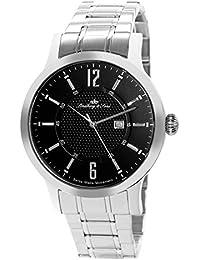 Lindberg & Sons LSSM304 - Reloj para hombre de cuarzo con correa de acero inoxidable color plata