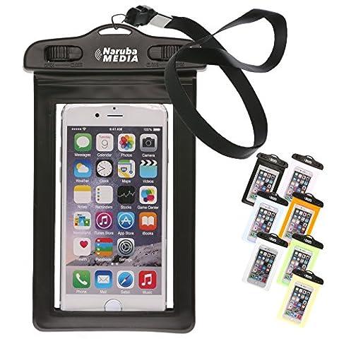 Naruba Media Waterproof | wasserdichte Handyhülle für alle Smartphones bis