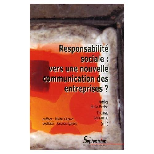 Responsabilité sociale : vers une nouvelle communication des entreprises ?