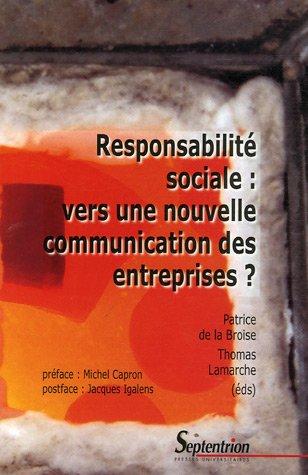 Responsabilité sociale : vers une nouve...