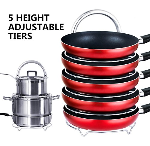 lifewit-height-adjustable-pan-pot-oraganizer-rack-5-tier-kitchenware-cookware-holder-hanger-shelves-