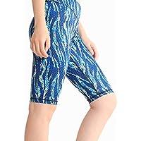 DECJ Mujeres Yoga Leggings Pantalones de Cintura Alta Running Mallas de Entrenamiento,E,S