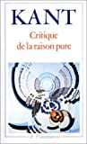 Critique de la raison pure - Flammarion - 04/01/1999