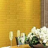 TAOtTAO Wand-Ziegelstein-Stein-rustikaler Effekt-selbstklebender Wand-Aufkleber-Ausgangsdekor des Wand-3D (G)