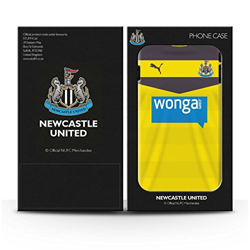 Offiziell Newcastle United FC Hülle / Case für Apple iPhone 6+/Plus 5.5 / Pack 29pcs Muster / NUFC Trikot Home 15/16 Kollektion Torwart