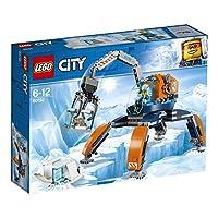 Fai fantastiche scoperte con la Gru artica!Recupera reperti incredibili con la Gru artica LEGO® City 60192, dotata di cabina di guida per minifigure apribile, gambe mobili e braccio articolato con tenaglie apribili, oltre a un blocco di ghiaccio con ...