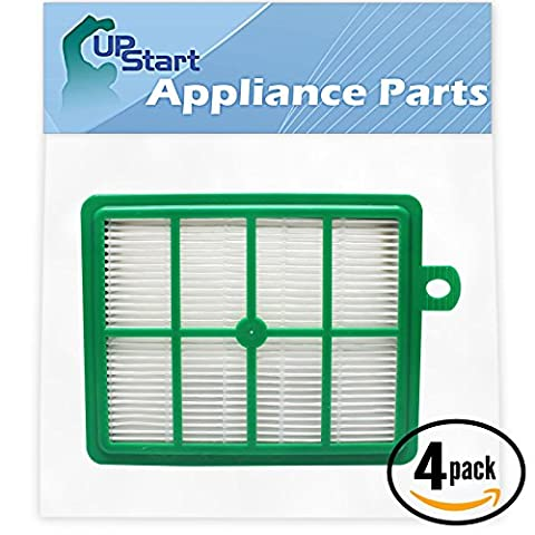 4-Pack Replacement Eureka 6100 Series Vacuum HEPA Filter - Compatible Eureka 60286C, HF-1 HEPA Filter