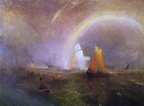 The Museum Outlet–L'Épave Bouée, 1849–Poster Print Online Buy (152,4x 203,2cm)