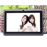 Alpentab 7-Inch Tablet (Black) - (Allwinner A23 1.5 GHz, 4GB HDD, Android 4.4)