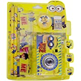Majik Combo Of Kids Accessories, Stationary Item Set, Return Gift Item For Girls And Boys, 45 Gram, Pack Of 1 (Yellow)