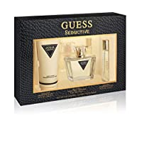 GUESS Seductive Eau de Toilette 75 ml + Body Lotion 200 ml+ Mini 15 ml, Gift Set for Women