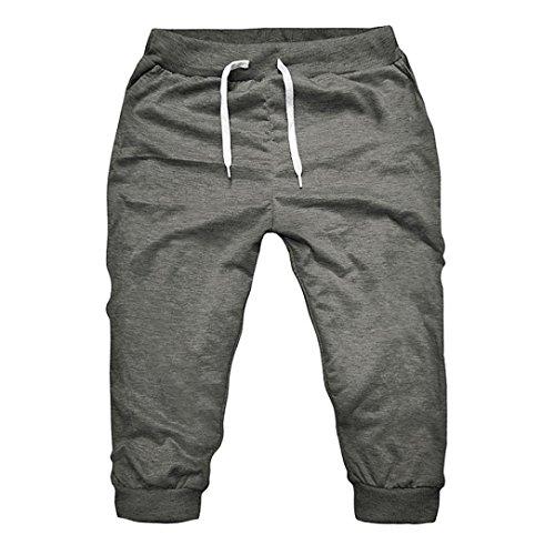 Vêtements de Sport décontractés Homme d'été Gym Workout Jogging Shorts Pantalon Fit Élastique Malloom