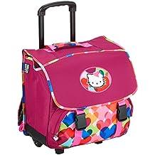 Hello Kitty Cartable à roulettes 38 cm Pourpre (framboise)