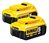 DeWalt DCB184 18 V 5 Ah XR Slide battery Twin Pack