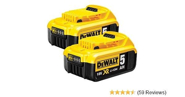 DeWALT DCB184 Genuine 18v 5.0Ah XR Lithium-Ion Battery
