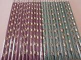 24 Bleistifte Einhorn 19 cm mit Radiergummi Mitgebsel Kindergeburtstag Mitbringsel