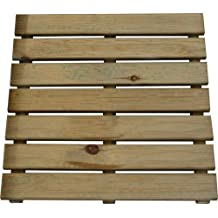 Papillon 8044840 - Loseta de madera autoclave, 50 x 50 cm
