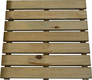 Papillon 8044840 pedana in legno impregnato in autoclave - Pedana da giardino ...