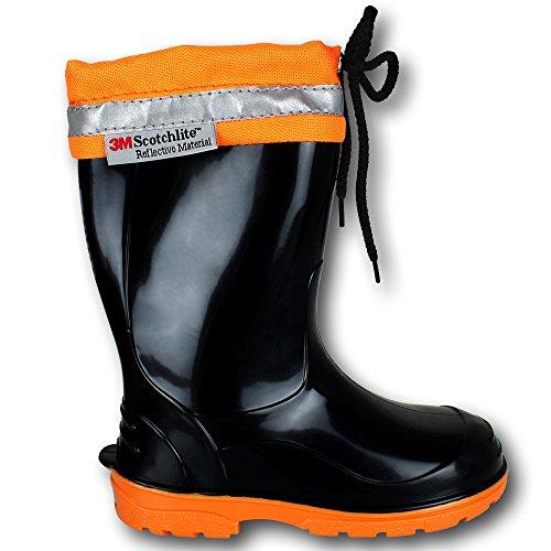 Gummistiefel Kinder - Stiefel - Schuhe mit Farb- und Größenauswahl Orange
