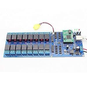 USR-R16-T 16 canaux à distance relais commutateur avec Interface TCP, 16 canaux