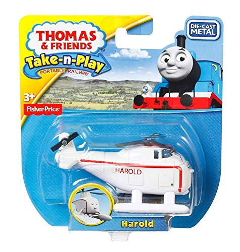 Mattel Fisher-price r8858–0–Thomas et ses amis Harold l'hélicoptère