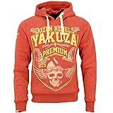 Yakuza Premium Hoody YPH-2422 Rot, 4XL