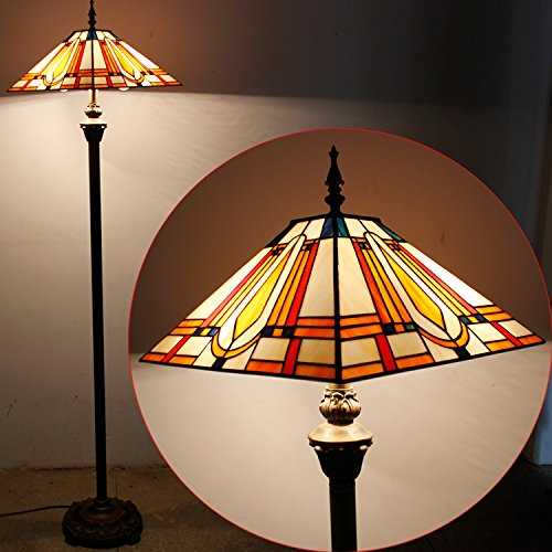 Affordable Valentine Tiffany Floor Lamp on Amazon