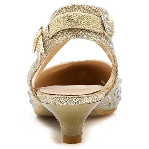 Aiyoumei Alla Cinturino Donna Oro Caviglia CrrYwxAq