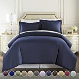 Best HC COLLECTION Beddings - HC COLLECTION Hotel Luxury 3pc Duvet Cover Set-1500 Review