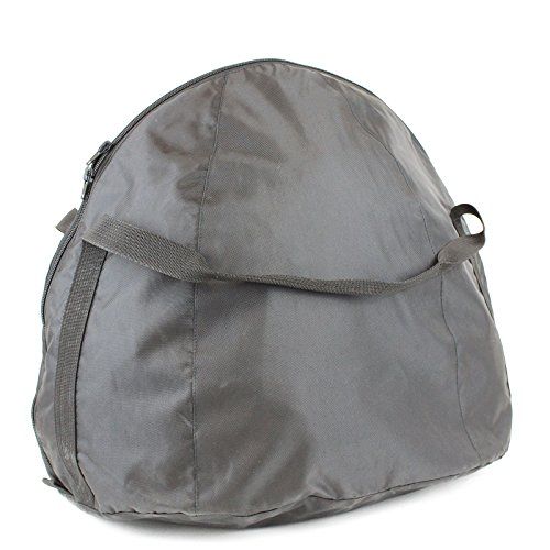 Nerve Shop Borsa per casco, protezione per casco, zaino, moto, casco da equitazione, ciclismo, casco da sci, militare, pilota, estrattore per casco