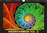 Neonfarben Vol. 2 / CH-Version (Wandkalender 2019 DIN A4 quer): Ein Fraktalkunstkalender für junge und junggebliebene Leute (Monatskalender, 14 Seiten ) (CALVENDO Kunst)