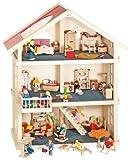 Goki 51957 - Puppenhaus 3 Etagen