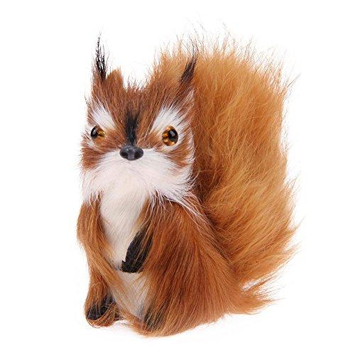 Nettes Simulations Eichhörnchen Plüsch angefülltes Puppen Spielzeug Kindergeburtstagsgeschenk -