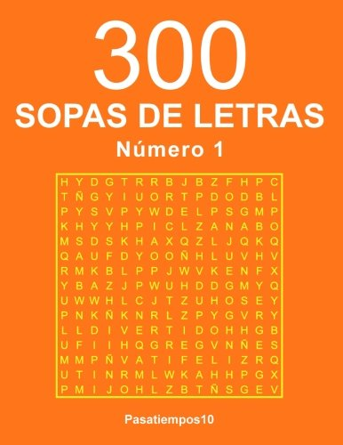 300 Sopas de letras - N. 1: Volume 1