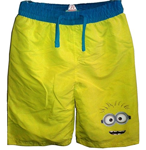 Boy Minion Kostüm - Rubie's Character Boys Minions Swimming Surf Shorts or Trunks 4/5 Years Old