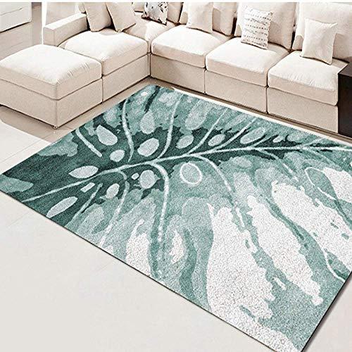 Geometrische Drucken (AWLLY 3D Drucken Rutschfester Teppich Modernes geometrisches Design Gute Qualität Flanell Schlafzimmer Wohnzimmer Bodenmatte Haushalt Teppich)
