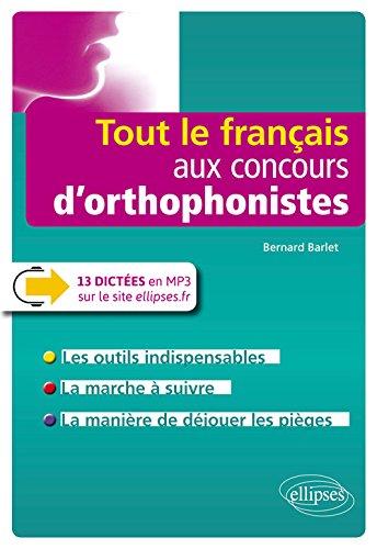 Tout le français aux concours d'orthophonistes
