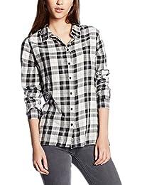 ONLY Damen Hemd Onlstockholm Cici L/S Shirt Noos Wvn