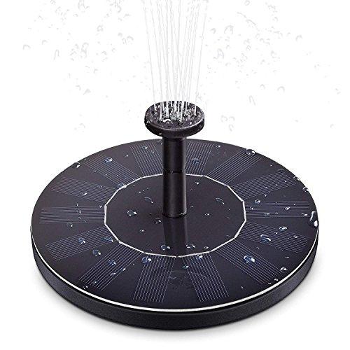 LUXJET 2.5W Solar Fountain Pump,...