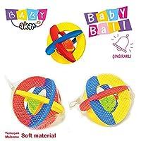 AKAR - Küçük Çıngıraklı Bebek Topu (Akallı 05-558)