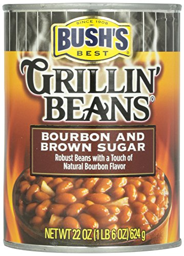 Bush\'s Best Grillin\' Beans Bourbon and Brown Sugar