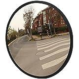 LAOYE Verkehrsspiegel 30cm Sicherheitsspiegel Überwachungsspiegel innen außen Garagenspiegel Panoramaspiegel Kassenspiegel Konvexspiegel