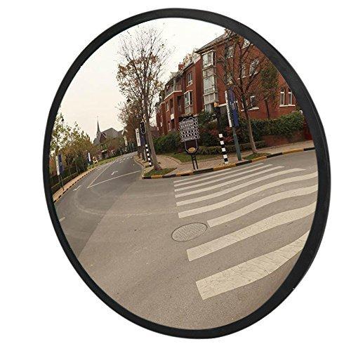 Preisvergleich Produktbild LAOYE Verkehrsspiegel 30cm Sicherheitsspiegel Überwachungsspiegel innen außen Garagenspiegel Panoramaspiegel Kassenspiegel Konvexspiegel